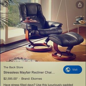 Recliner made in Norway